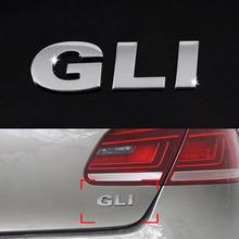 Car-styling Metal GLI Logo VW Volkswagen POLO Tiguan Passat B6 B7 Golf 6 7 Jetta Skoda FABIA Octavia Rapid ROOMSTER Yeti - Super-Cars store