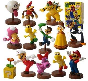 Free Shipping Super Mario Bros Figures Set 13pcs wholesale and retail