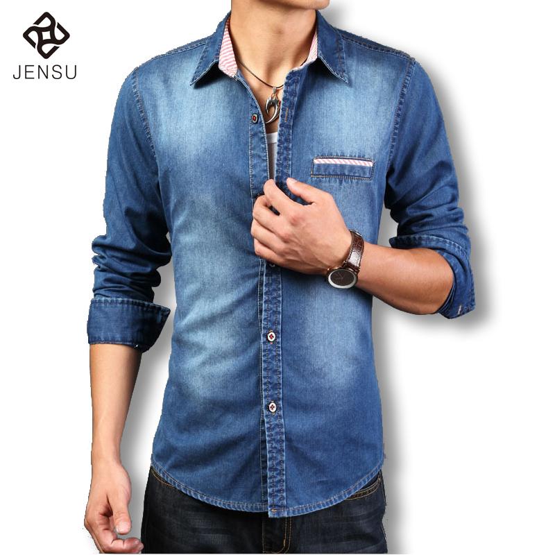 Popular Denim Shirt No Collar-Buy Cheap Denim Shirt No Collar lots ...
