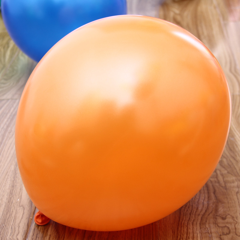 1.2g 10 Inch Latex Helium Pearl Orange Balloon 100pcs/lot wedding decorations Inflatable baloon(China (Mainland))
