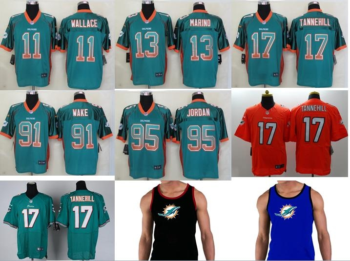 NO-1 New Arrivals Free shipping Best quality Miami Dolphins all players 23 style size S-XXXL(China (Mainland))