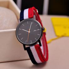Marca de fábrica superior de estilo de lujo del Reloj relojes para hombres de Nylon correa de pulsera de cuarzo militar Reloj Reloj envío gratis