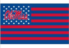 Buy 3X5FT ole miss Flag digital printed custom banner 100D Polyester Flag metal Grommets free for $6.49 in AliExpress store
