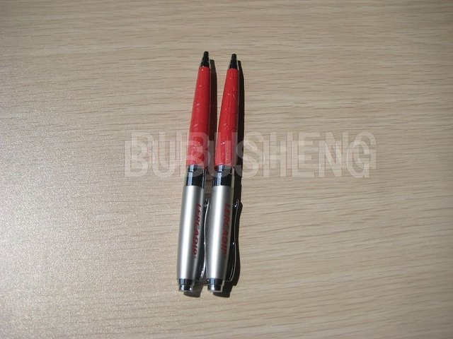 FREE SHIPPING metal Ball point pen twist pen with clip best sell 2pcs/lot fast delivery