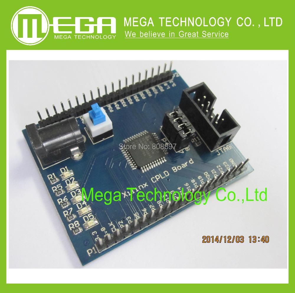 Xilinx XC9572XL CPLD Development Board Learning Board Breadboard(China (Mainland))
