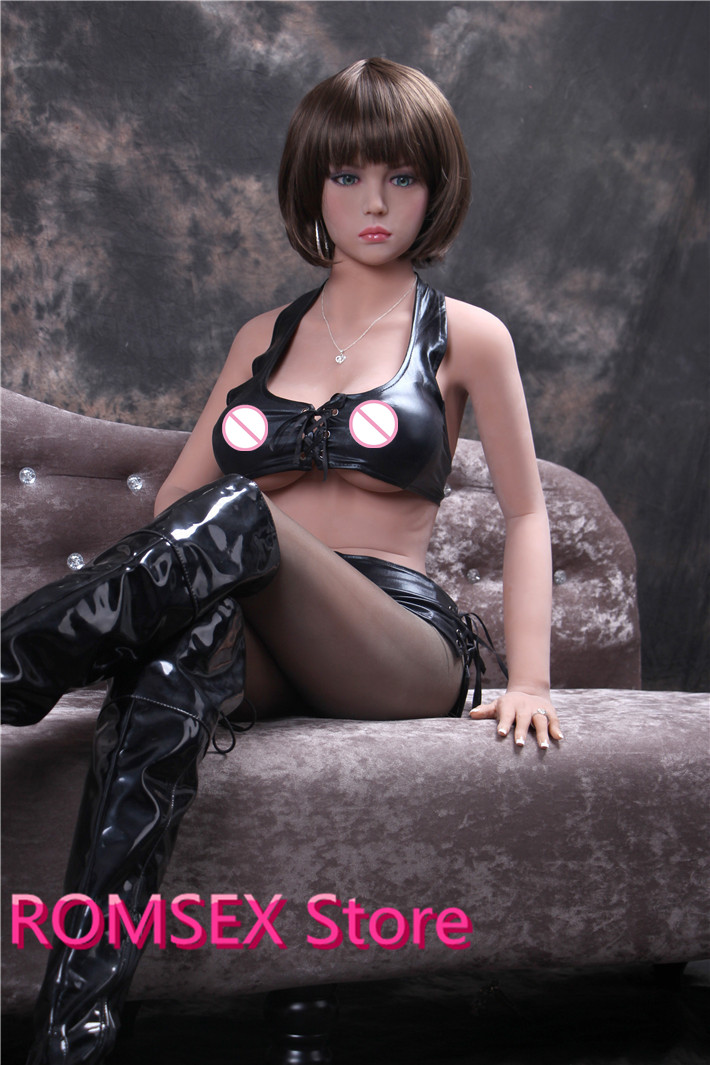 new 148cm/158cm adult doll japanese love doll with wig vagina anal oral three sex metal skeleton real silicone sex dolls(China (Mainland))