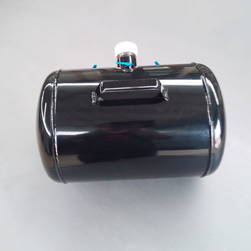 Factory customized 5 gallon black powder coating steel air tank(China (Mainland))
