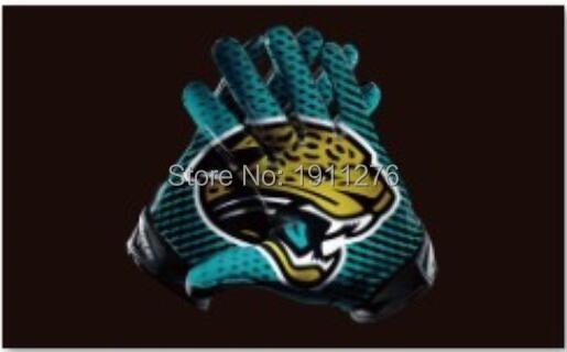 90x150 Jacksonville Jaguars USA Football Flag Jacksonville Jaguars NFL flag 120g quality polyester 100D 3x5ft free shipping(China (Mainland))