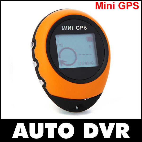 Hotsales Cheapest Mini GPS Tracker Handheld GPS Tracker PG03 Yellow for Outdoor Spot Climming Showing Accurate Time(China (Mainland))