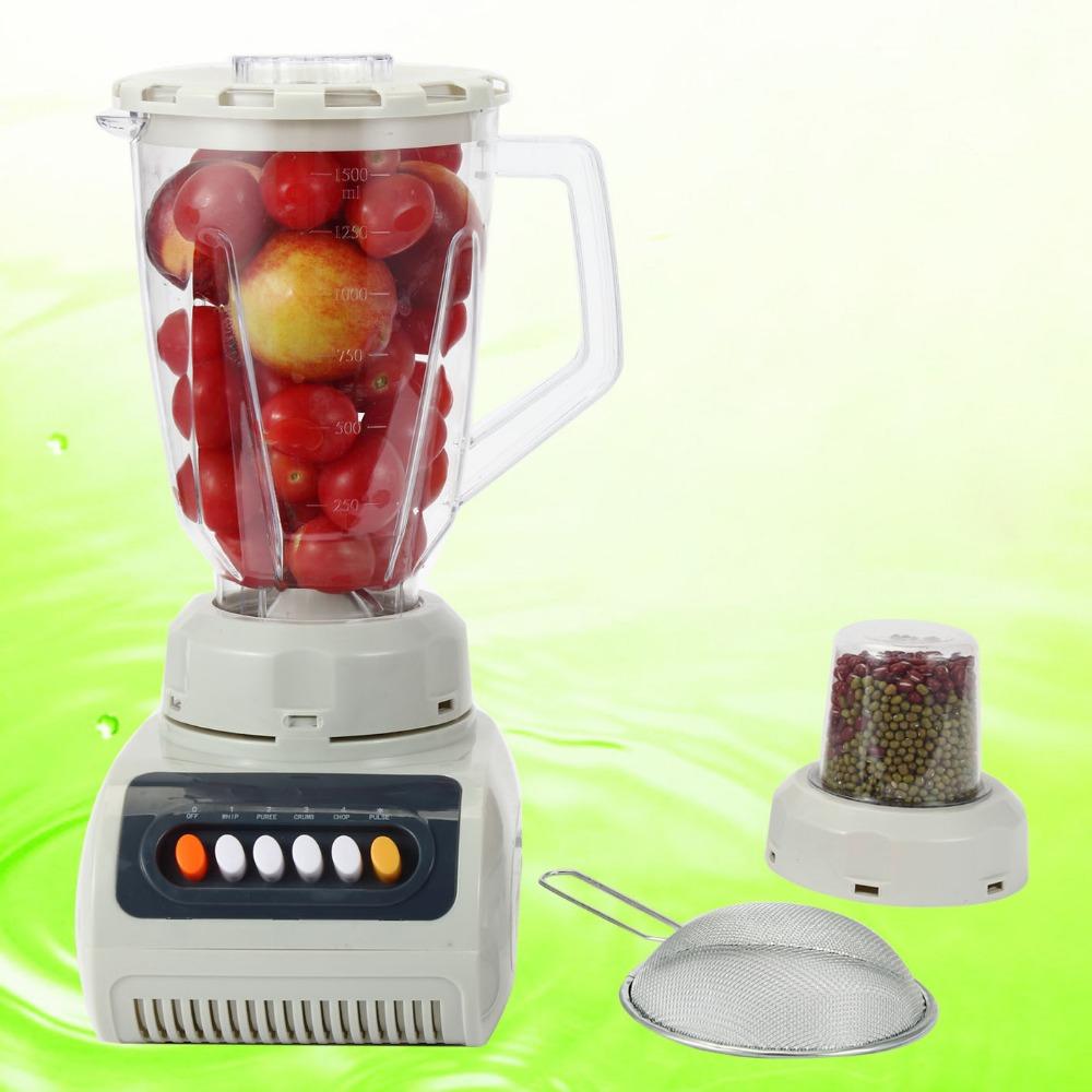 100% Original 220V Commercial Bar Blender Mixer Juicer Food Fruit Processor Ice Green Smothies Heavy Duty(China (Mainland))