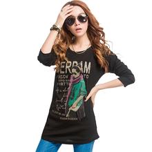 T shirt Women Tops Tee Ladies Long T-Shirt Poleras De Mujer Ropa Camisas Femininas Vetement Femme Tshirt Woman Clothes Plus Size