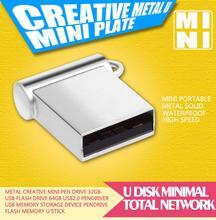 Mini USB Flash Drive Real Capacity Pendrive 32GB 16GB 8GB 4GB Pen Drive High Speed USB Stick Flash Card Free Shipping(China (Mainland))