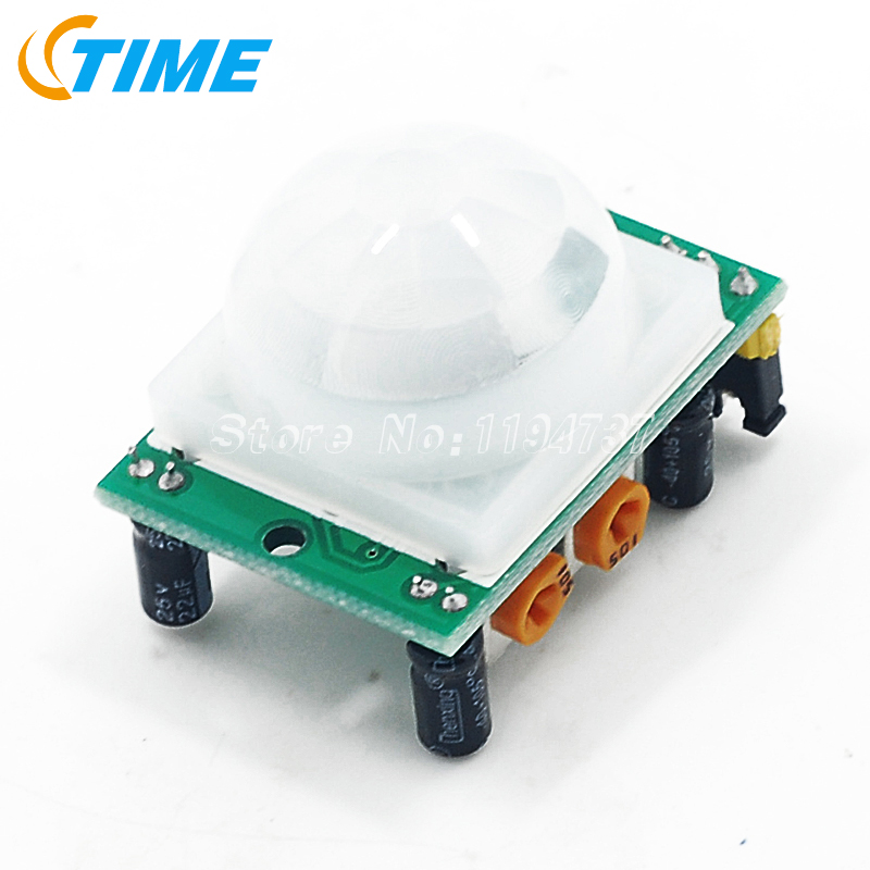 Free Shipping HC-SR501 Adjust Infrared IR Pyroelectric Infrared PIR module Motion Sensor Detector Module We are the manufacturer(China (Mainland))