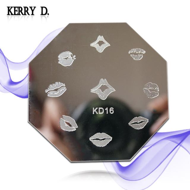 stamping nail art image plate KD series