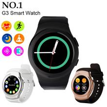2016 Bluetooth смарт часы высокое качество G3 наручные часы Smartwatch для iPhone и Samsung HTC Android телефон Smartwatch