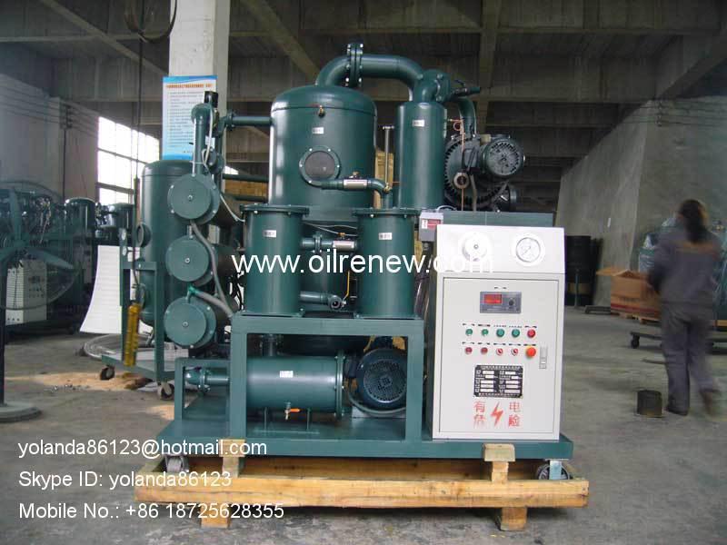 HV oil filtering machine | High voltage oil purification machine High voltage oil purifier(China (Mainland))