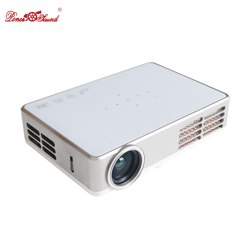 Htp 3000 lumens android smart mini projector led9 active for Top rated mini projectors