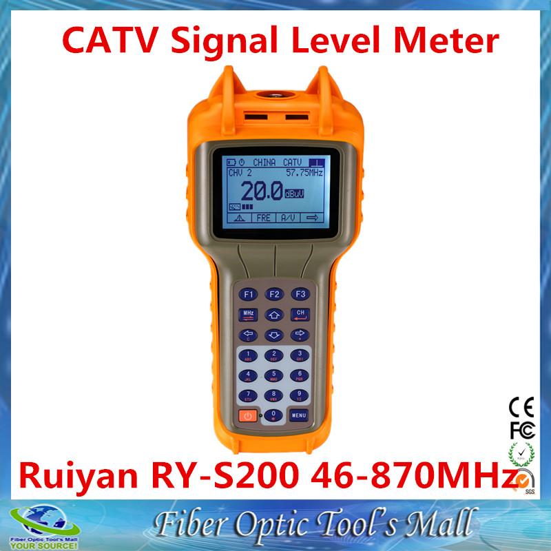 Ruiyan RY-S200 46-870MHz Digital CATV Signal Level Meter(China (Mainland))