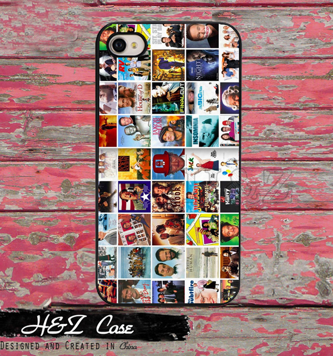 Famous Robin Williams Movie Collage Custom Hard Skin Mobile Phone Cases For iPhone 6 6 plus 5c 5s 5 4 4s Case Cover With Gift(China (Mainland))