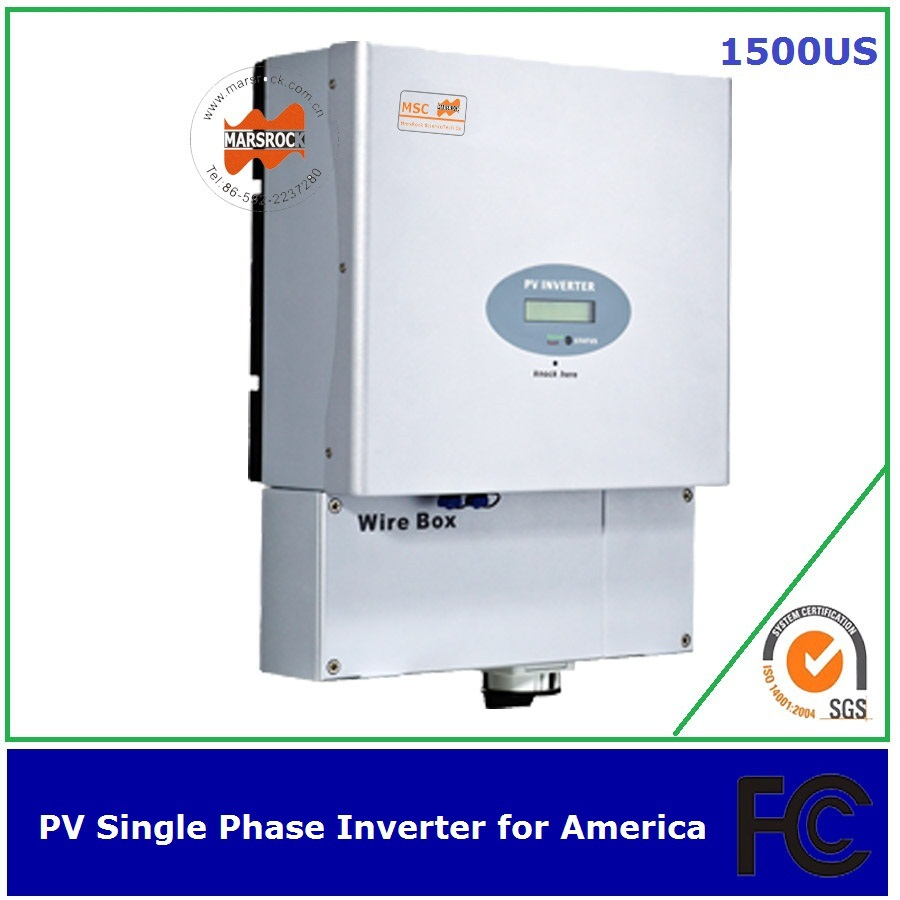 1000w single phase solar inverter MPPT transformerless UL FCC IEEE CSA approved for America(China (Mainland))