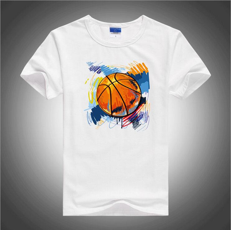 BGtomato Graffiti baskateball t shirt men's fashion sport active shirts Brand good quality breathable soft cotton shirts(China (Mainland))