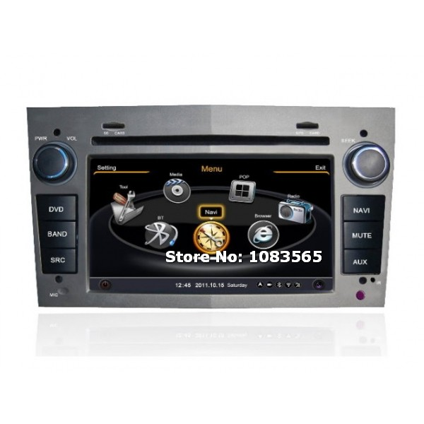 For Opel Meriva 2006 - 2010 GPS Navigation Car DVD Player Radio Stereo S100 Multimedia System(China (Mainland))