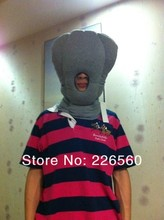 Free shipping 3Pieces Ostrich Pillow Grey Travelling Pillow(China (Mainland))