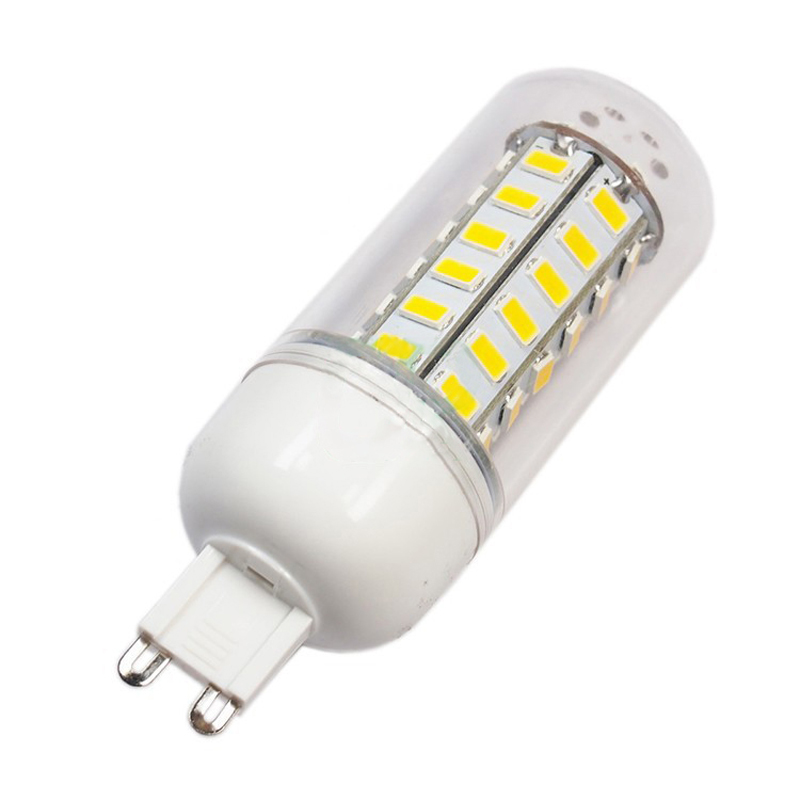Lighting for Chandelier Clear Cover Flame Retardant Plastic 24 36 LEDs 9W 12W E27 E14 G9 LED lamp 220V with 360 angle emitting(China (Mainland))