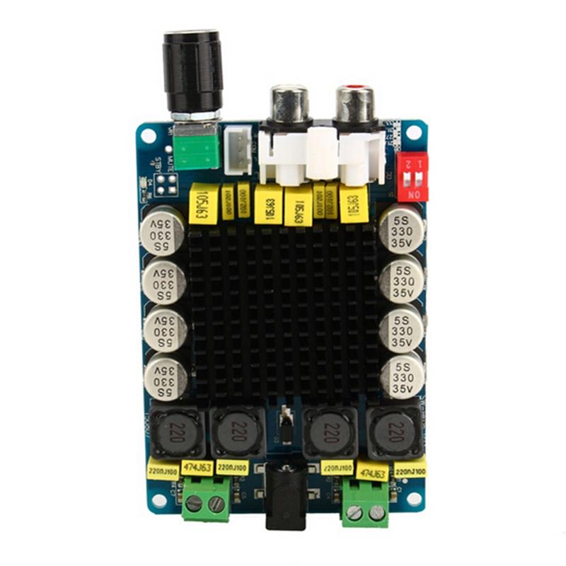 Mini Portable Tda7498 80w + 80w Digital Amplifier Board Class d 2 x 100w Dual Channel Audio Stereo Module Hot Sale(China (Mainland))