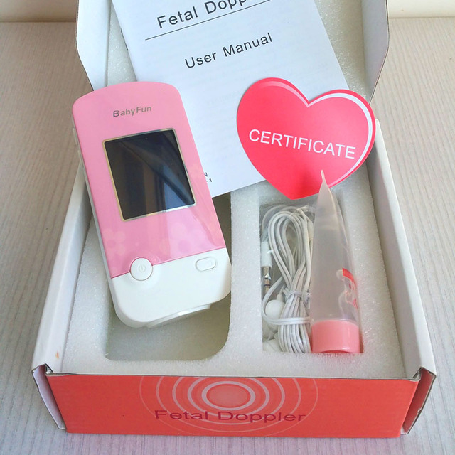 Плода доплеровского фетальный монитор сердечного ритма для беременная мать будущего ...