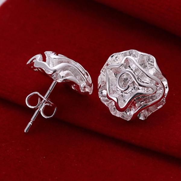 Серьги-гвоздики Silver Angel 925 925 SKUE010 серьги гвоздики silver angel 100% 18k 7328