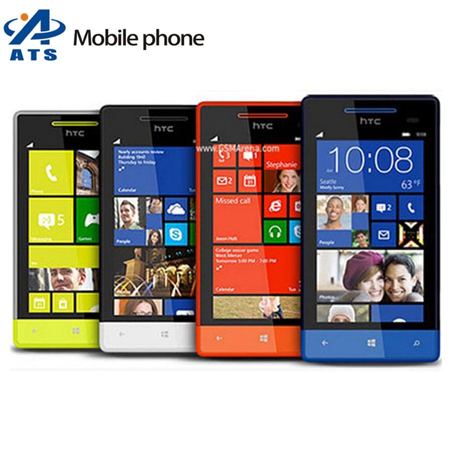 Original Unlocked HTC 8S A620e Mobile Phone Dual-core GPS WIFI 4.0'' 5MP Free Shipping(China (Mainland))