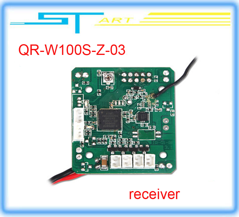Walkera QR W100S QR-W100S-Z-03 Receiver Part (RX2646H-DS) free shipping <br><br>Aliexpress