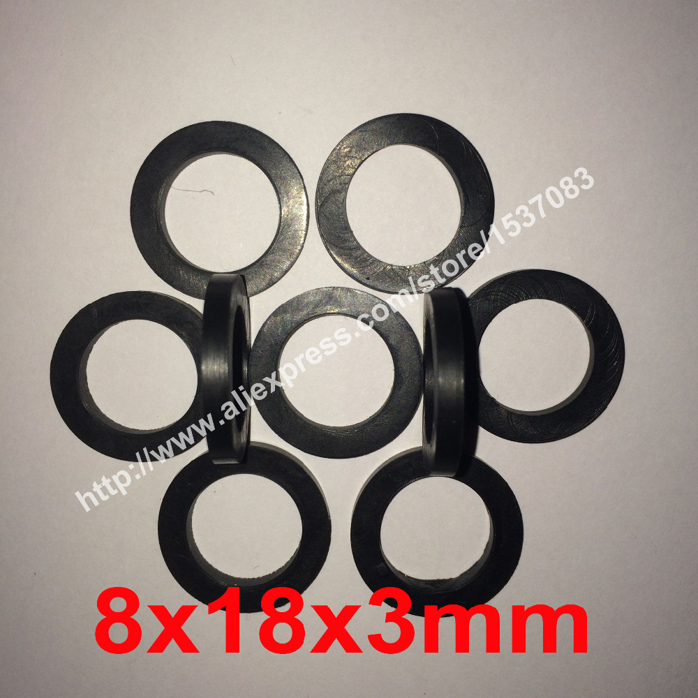 8x18x3mm NBR rubber flat gasket o ring seal<br><br>Aliexpress