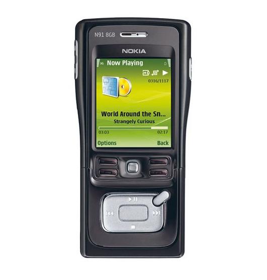 N91 Nokia N91 mobile phone Original Unlocked N91 refurbished cell phone Free shipping(China (Mainland))