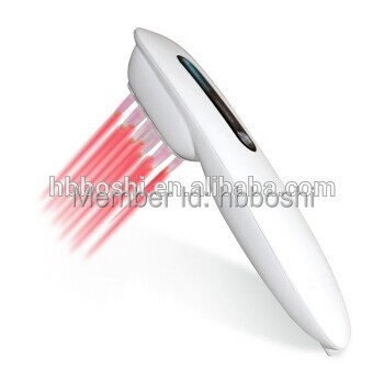 new invented products electric hair follicle stimulator laser hair cap(China (Mainland))