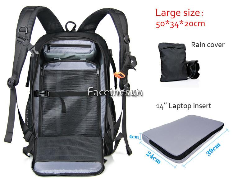 Professional Camera Backpack Bag NG--3
