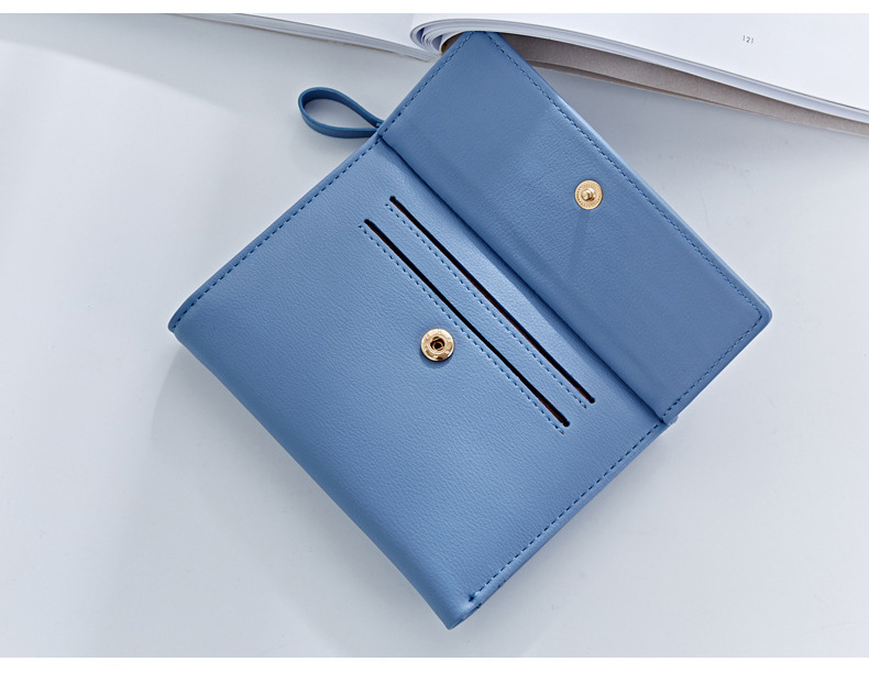 HTB1yKObQFXXXXbUaXXXq6xXFXXXo - WEICHEN Hasp & Zipper Short Standard Wallet, Hot Fashion PU Leather Solid Coin Card Purse Wallets For Women Lady Clutch Carteras