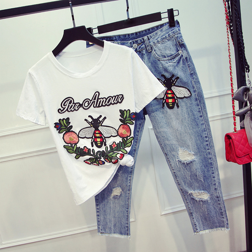 Online buy wholesale womens denim suit from china