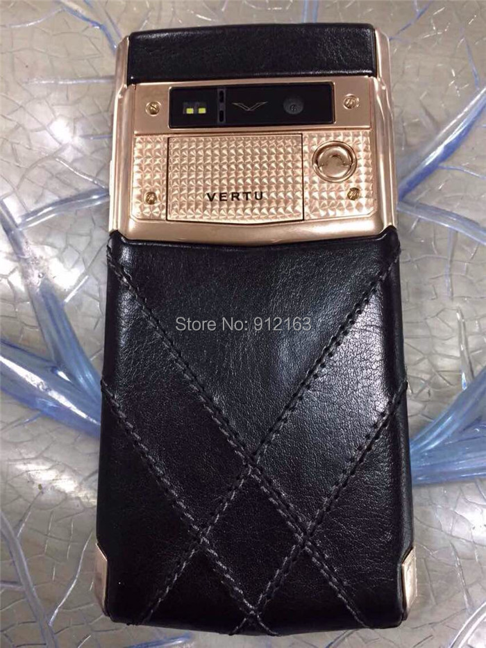 2015 New Arrival Luxury Signature Touch Phones Bently Limited Edition Red Gold Diamonds 4G LTE 2G