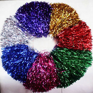 Cheerleading bouquet cheerleading pompon props callisthenics hand flower buckle Small - LING XIAOYAN's store
