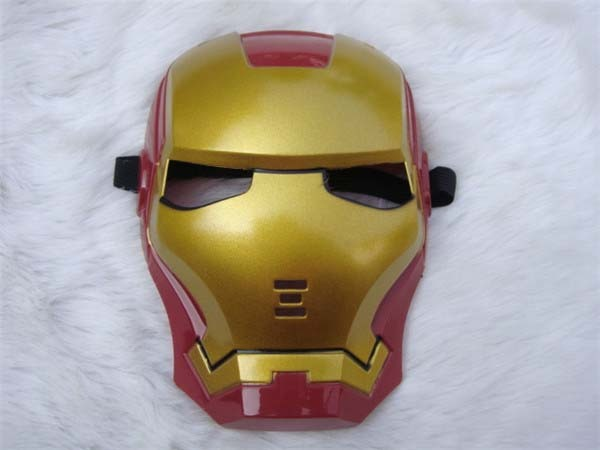 Iron Man Eye Face Mask Fancy Dress Masquerade Costume Halloween Party
