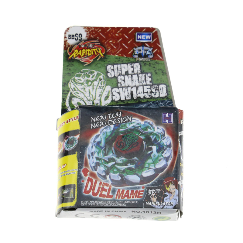 1PCS BEYBLADE METAL FUSION Poison Serpent SW145SD BB69 Metal Fusion 4D Beyblade without launcher SUPER RESCOLPIO(China (Mainland))