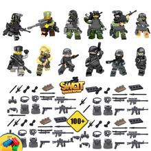 12 unids mini figuras de armas de asalto swat el fantasma fantasma juguete bloque de construcción de armas del ejército comando de las fuerzas armadas compatible con lego(China (Mainland))