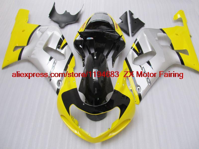 INJECTION Body Kits GSX R750 2001 Plastic Fairings GSXR750 Fairing Kits 2002 01 02 03 K1(China (Mainland))