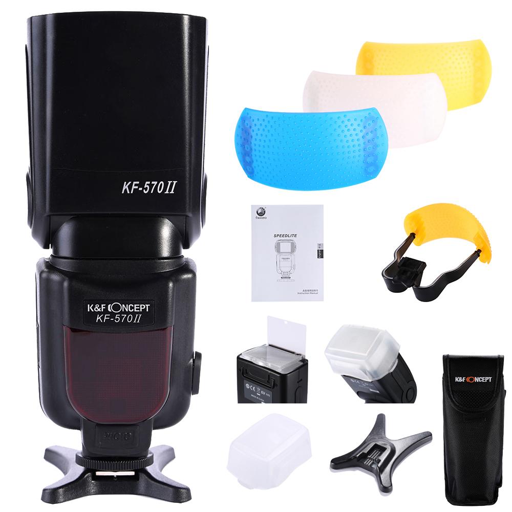 K&F Concept KF-570 II High Speed Flash Light Speedlite For Nikon D70 D90 D5100 D5000 D3100(China (Mainland))