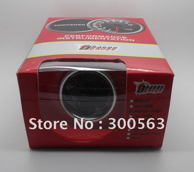 "Free shipping 2"" 52mm Turbo Boost Gauge (auto meter / auto gauge /car meter )(China (Mainland))"