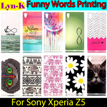 Buy Aztec TRIBLE Owl Flower Printing TPU Case sFor Sony Xperia Z5 Silicon Gel Protection Back Cover Sony Xperia Z5 Funda Coque for $1.48 in AliExpress store