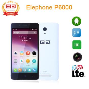 """Оригинальный 5.0 """" Elephone P6000 MTK6732 четырехъядерных процессоров 2 ГБ RAM 16 ГБ ROM 13.0 Мп 4 г FDD 3 г WCDMA андроид 5.0 смарт-мобильный телефон"""