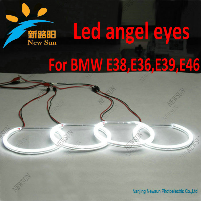Cheap price for BMW E46 3 Series Sedan/Wagon Projector Headlight with Angel Eye(China (Mainland))